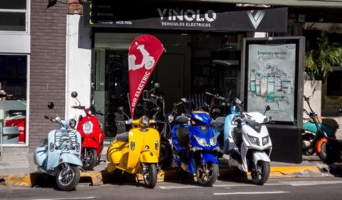 scooter eléctrica  usada  sunra 70km - viñolo vehículos/e