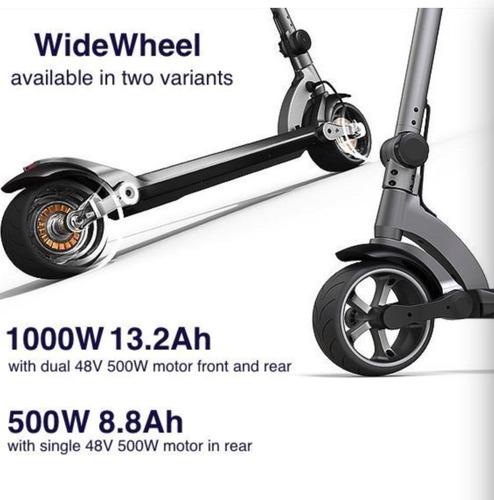 scooter eléctrico, 45-60 km x carga, usd 930.00+igv