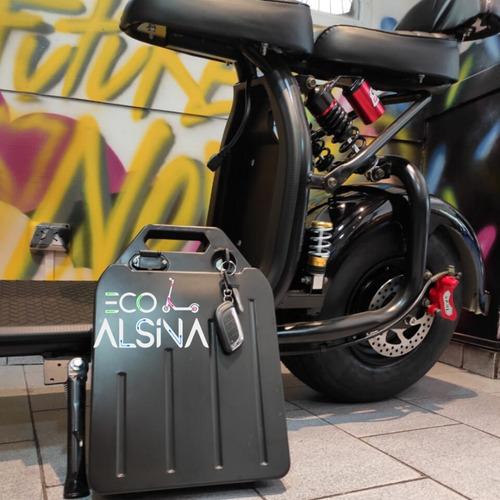 scooter eléctrico city coco - ecoalsina auntonomia 70km