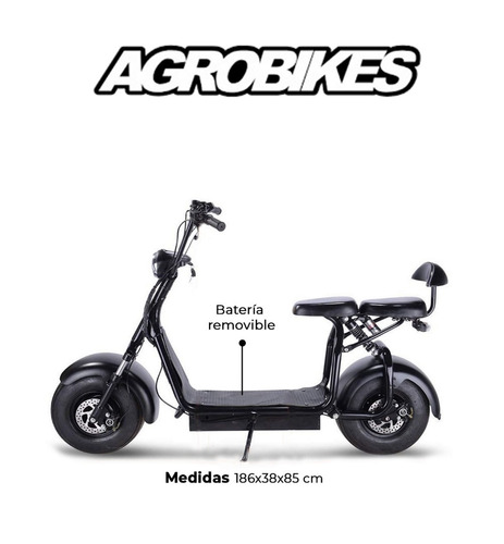 scooter electrico citycoco potens entrega ya!