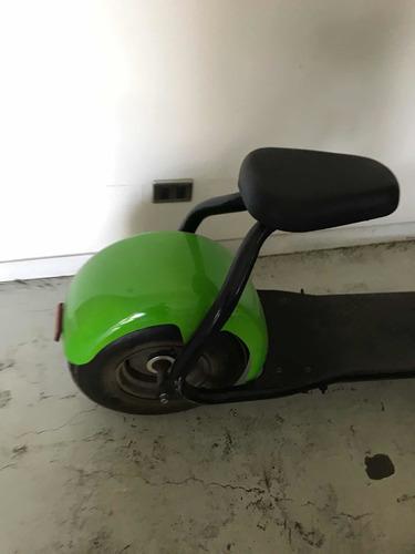 scooter eléctrico con asiento