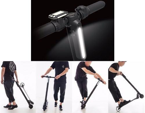 scooter eléctrico de carbono, extra liviano poco uso