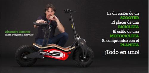 scooter eléctrico de diseño italiano! ...www.e-trasporto.com