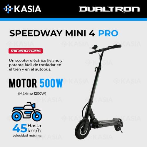 scooter electrico dualtron speedway mini4 pro minimotors10ah
