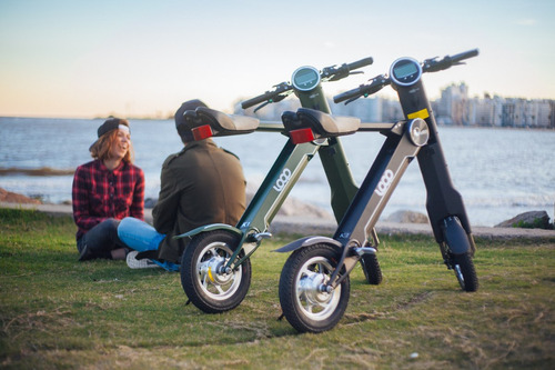 scooter eléctrico loop k1 plegable