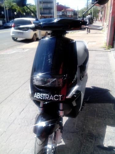 scooter electrico lucky lion abstract batería gel moto 1200w