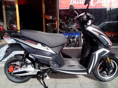 scooter electrico lucky lion king batería gel moto ciclomoto