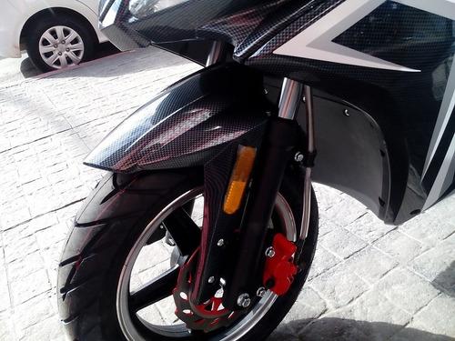 scooter electrico lucky lion king batería litio 30 ah moto