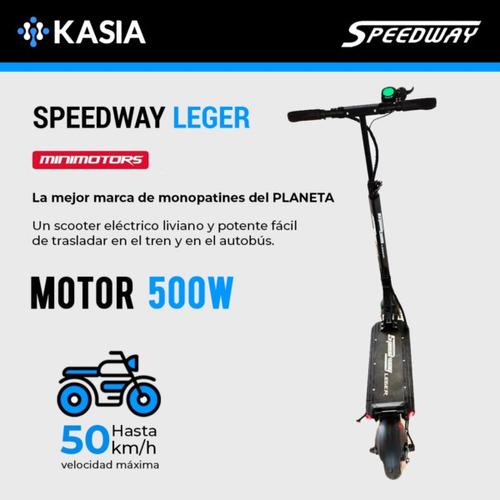 scooter electrico minimotors dualtron speedway leger 25km/h