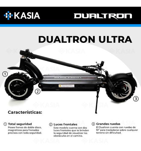 scooter electrico minimotors dualtron ultra bateria lg
