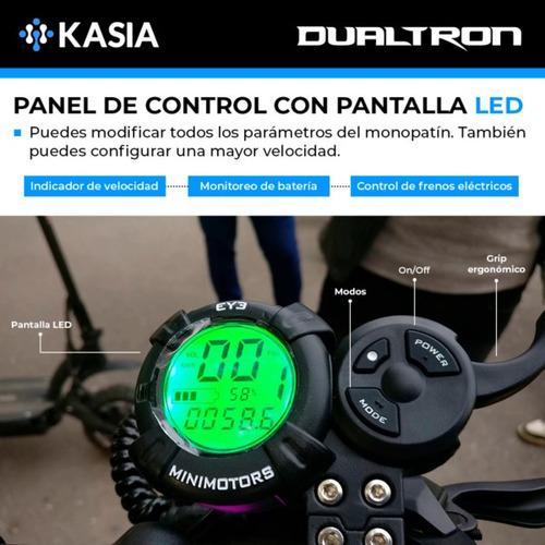 scooter electrico minimotors dualtron x  version internacion