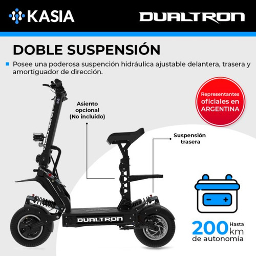 scooter electrico minimotors monopatin daultron x