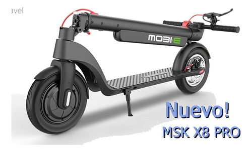 scooter eléctrico mobie msk x-8pro. mayor rendimiento!