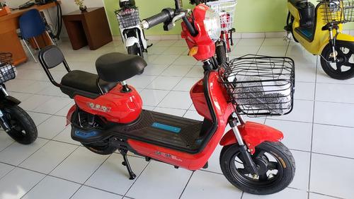 scooter eléctrico modelo z-21 golovolt color rojo
