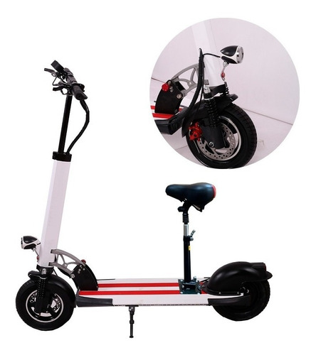 scooter eléctrico monopatin asiento 350w  ml3191