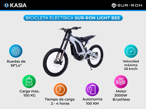 scooter electrico moto electrica sur ron light bee