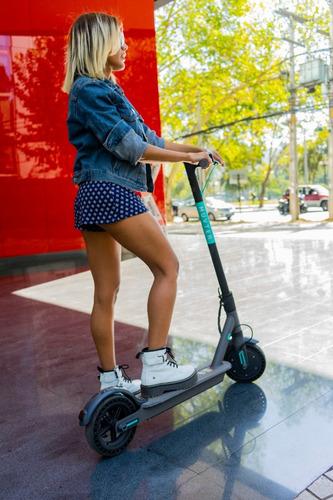 scooter eléctrico muvter street black 25km/hr plegable