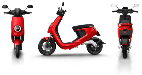 scooter eléctrico niu m1 pro - rojo