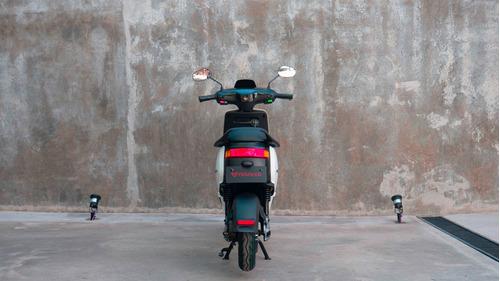 scooter eléctrico nuuv m+ blanca - no super socco no e muv