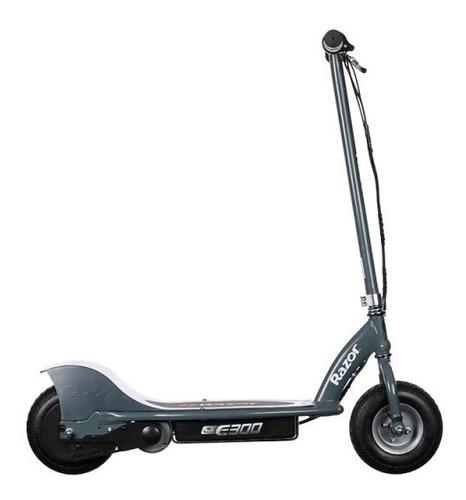 scooter eléctrico razor e300 plateado