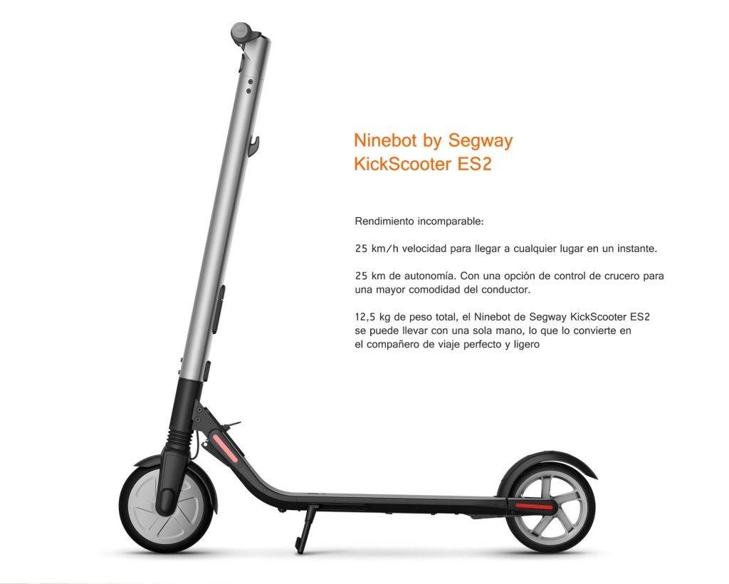 Resultado de imagen para Segway Scooter Electrico ES2