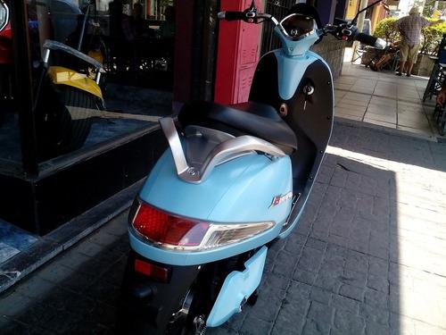 scooter electrico sunra grace batería gel ciclomotor moto
