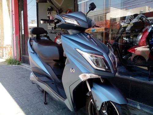 scooter electrico sunra hawk 1800w batería gel ciclomotor