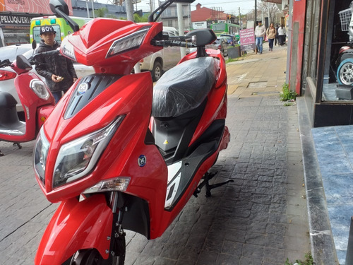 scooter electrico sunra hawk 3000w batería gel ciclomotor