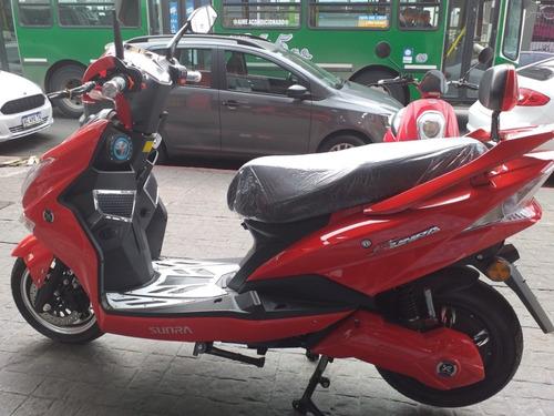 scooter electrico sunra hawk 3000w batería litio 30 ah moto