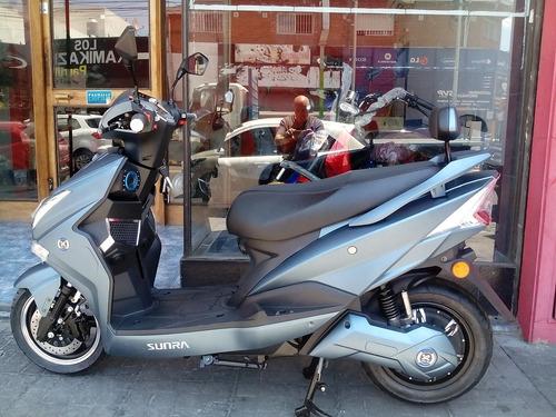 scooter electrico sunra hawk 3000w batería litio 40 ah moto