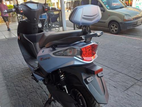 scooter electrico sunra leo batería litio 30 ah ciclomotor