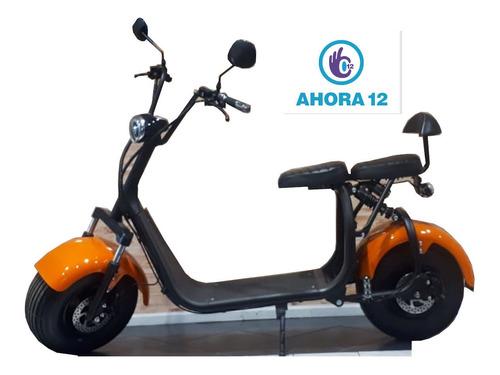 scooter eléctrico sunra spyracing - 1000w - cuota: $9.320
