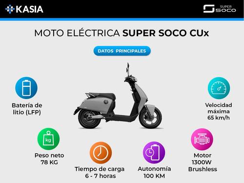 scooter electrico super soco cux motor bosch 2788w