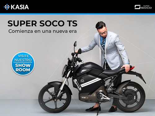 scooter electrico super soco ts motocicleta nueva