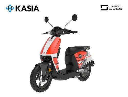 scooter electrico supersoco cux ducati edicion especial