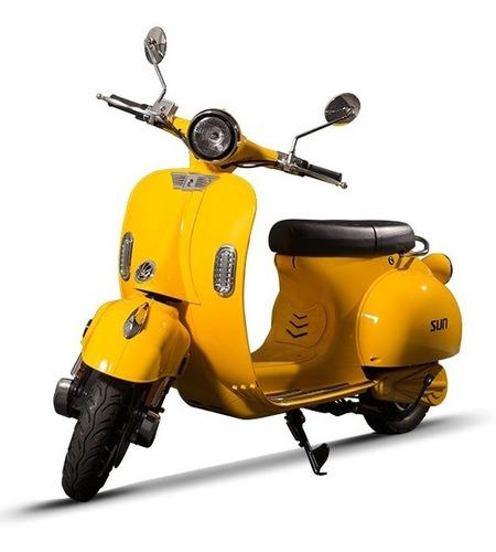 scooter electrico vintage vespa sunra !!!!!!!!!!