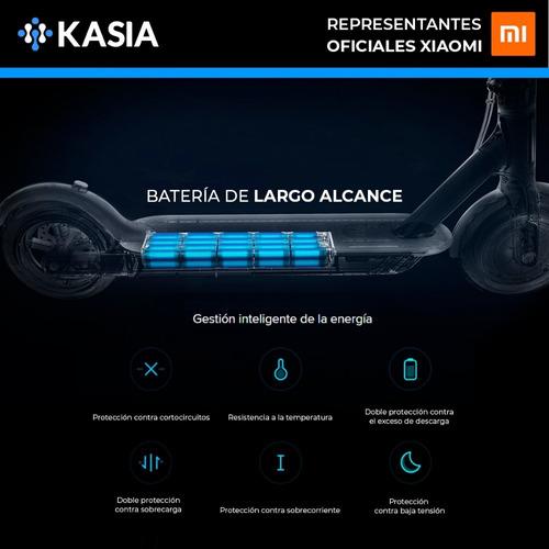 scooter electrico xiaomi m365 luces 40km foston