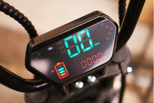 scooter elétrica 1.500 watts com 2 baterias