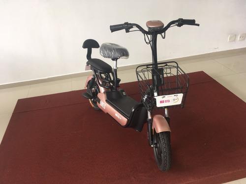 scooter eletrica 350w rosa