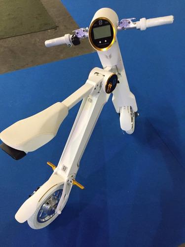scooter elétrica dobrável