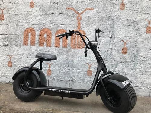 scooter eletrica estilo harley - bateria fixa 1000w