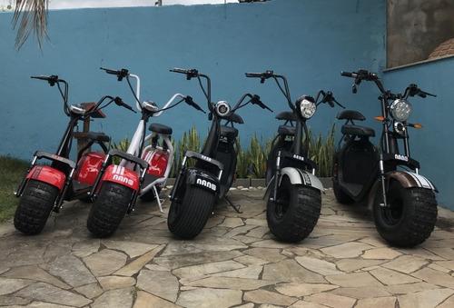 scooter eletrica - motor 1500w bateria removivel 20ah