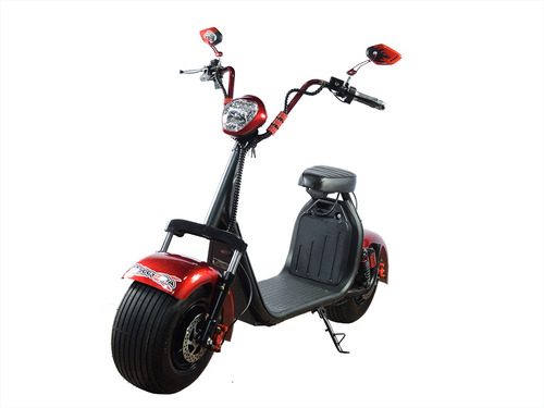 scooter elétrica road city s 1000w 60v com bluetooth