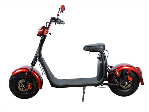 scooter elétrica road city s 1000w 60v com bluetooth