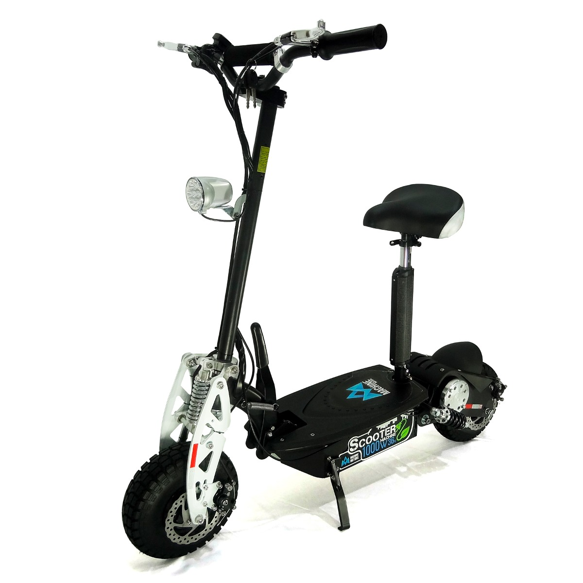 a3efefa837a Scooter Elétrico Patinete Machine Motors 1000w 36v Preto - R  3.890 ...