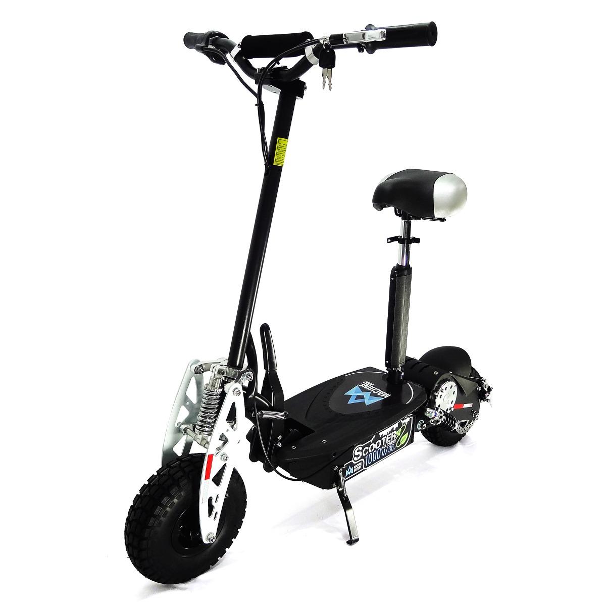 9b86ab69665 Scooter Elétrico Patinete Machine Motors 1000w 36v Preto - R  3.390 ...