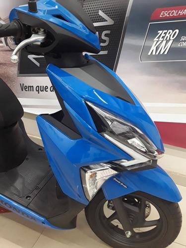 scooter elite 125i automatica freio cbs - facil de pilotar