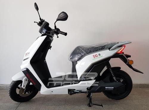 scooter gilera eg ii eléctrica ecológica automática