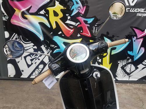 scooter gilera piccola 150 0km 2020  negro hasta 19/7