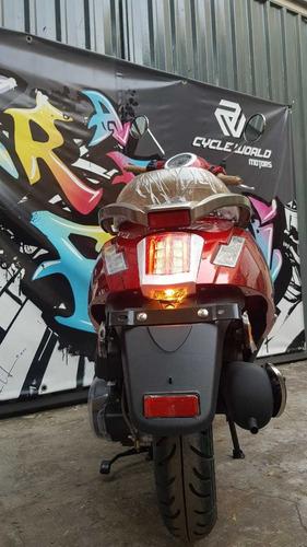 scooter gilera piccola 150 0km 2020 negro tempo al 12/6